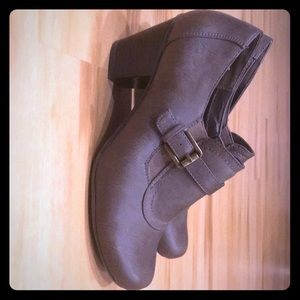 G.H. Bass  bootie shoe
